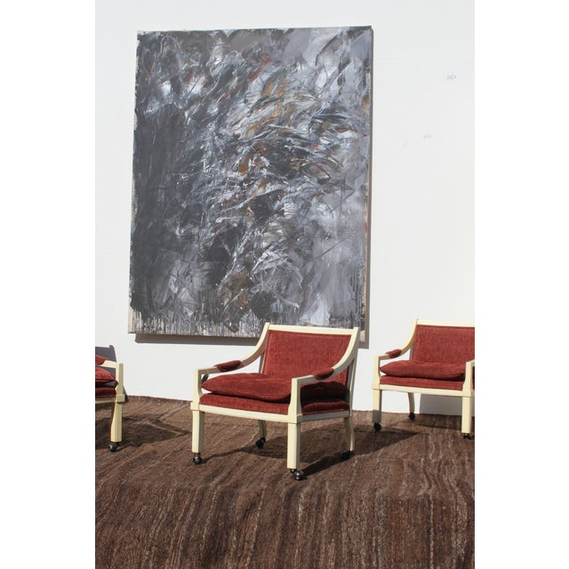 Contemporary Abstract Painting by Dehais For Sale In San Diego - Image 6 of 8