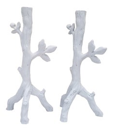 Image of Plaster Candle Holders