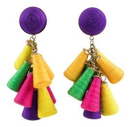 Image of Purple Earrings