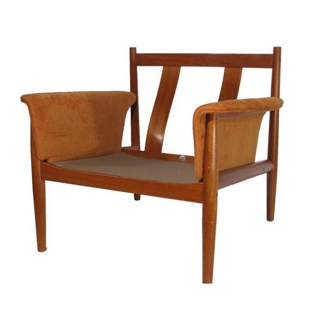 Grete Jalk Teak Sofa & Lounge Chair - A Pair - Image 5 of 9