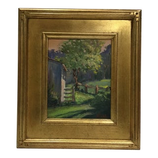 """20th Century Oil Painting, """"Afternoon Light,"""" by Jane Coble For Sale"""