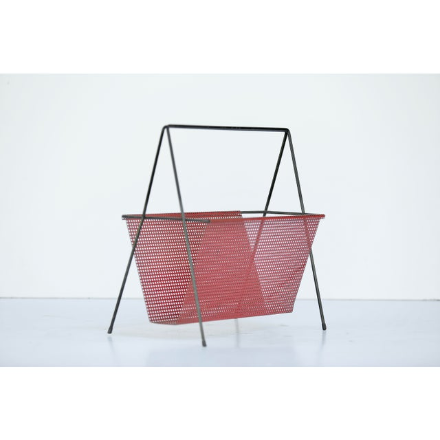 1950s French Magazine Rack For Sale - Image 5 of 5