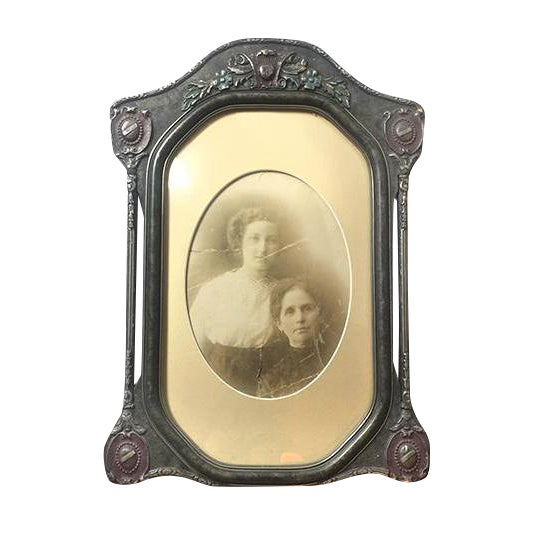 Antique Victorian Wooden Picture Frame - Image 1 of 3