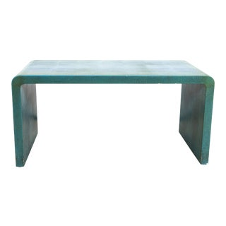 Coffee Table attributed to Karl Springer For Sale