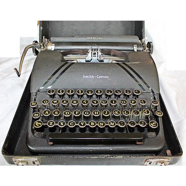 Smith-Corona Sterling Typewriter - Image 6 of 10