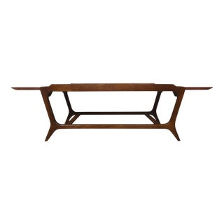 Mid-Century Walnut Coffee Table by Lane
