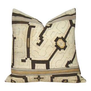 Shipibo Geometric Pillow Cover For Sale