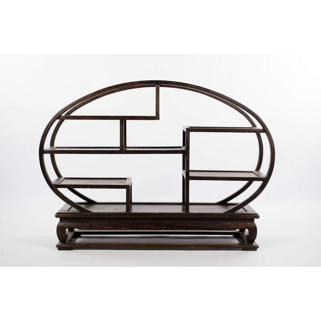 20th Century Chinese Wood Petite Etagere For Sale - Image 12 of 12