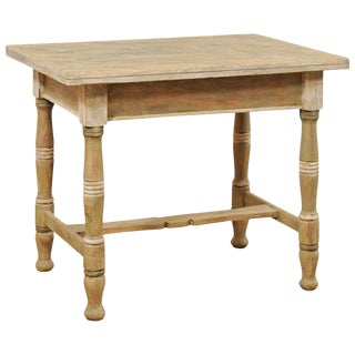 Early 20th Century Antique European Wood Table For Sale