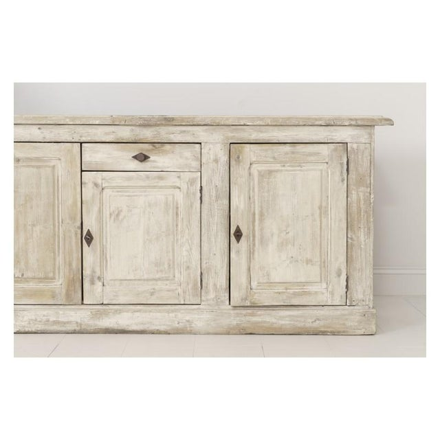 19th Century French Provençal Louis Philippe Style Enfilade in Original Patina For Sale - Image 4 of 10