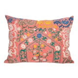 Image of 1970s Vintage Suzani Pillow Cover For Sale
