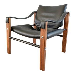 Arkana Safari Lounge Chair, 1970's by Maurice Burke For Sale