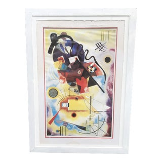 1990s Abstract W. Kandinsky Print For Sale