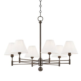 Classic No.1 6 Light Chandelier - Db For Sale