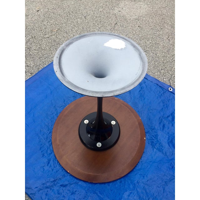 Eero Saarinen 1960s Knoll Style Walnut Tulip Table For Sale - Image 4 of 5