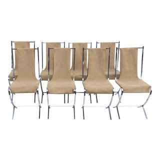 Maison Jansen Dining Chairs - Set of 12 For Sale