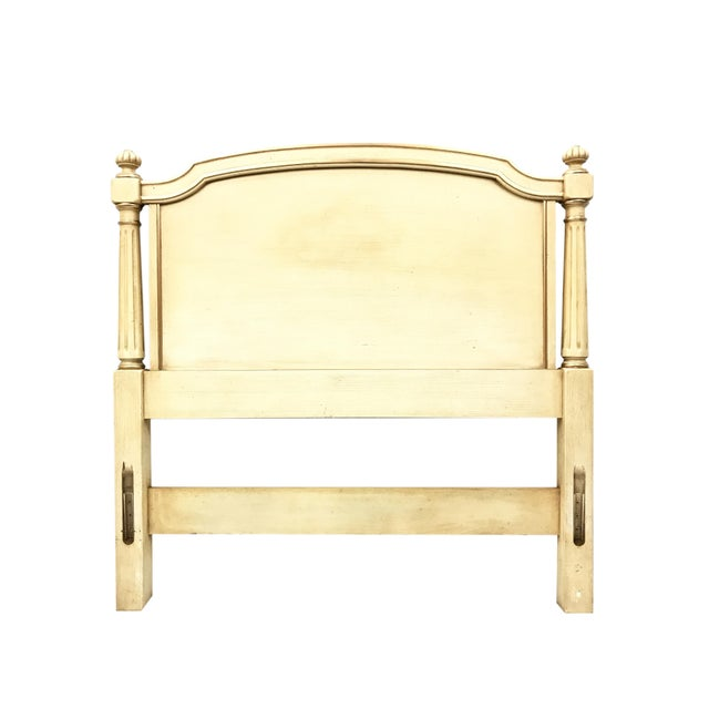 Beautifully crafted French Regency style Twin Headboards by Kindel Furniture of Grand Rapids. Constructed from solid wood...