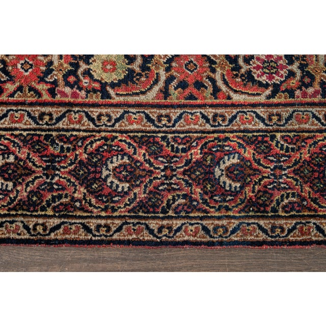 Vintage Persian Wool Rug 3'10'' X 6'4'' For Sale In New York - Image 6 of 11