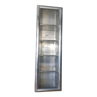 Restoration Hardware Aviator Collection Aluminum Clad Bookshelf
