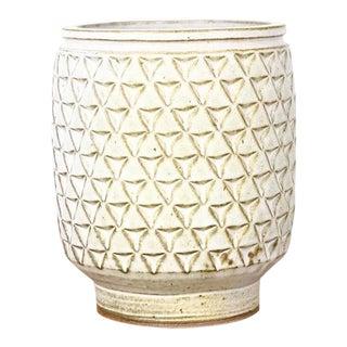 Modern Christian Boehr Ceramic Stoneware Planter For Sale