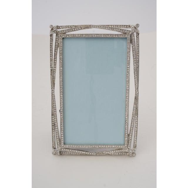 Vintage Photo Frame -- Bejeweled Encrusted for Tabletop Display For Sale - Image 9 of 9