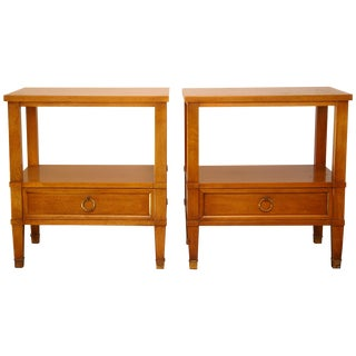 Baker Milling Road Night Stands - A Pair For Sale
