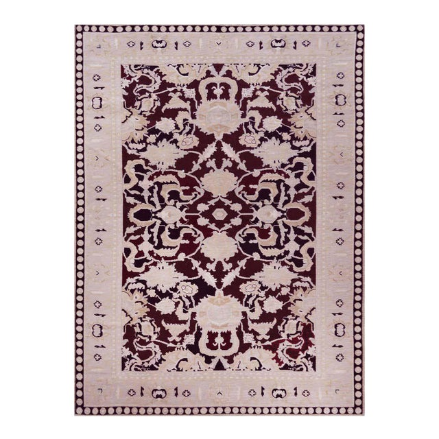 Handwoven Persian Agra Rug For Sale