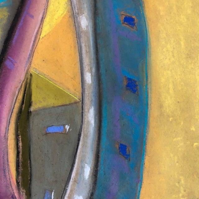 Erik Sulander Who City, an Original Pastel by Erik Sulander 12x12 For Sale - Image 4 of 5