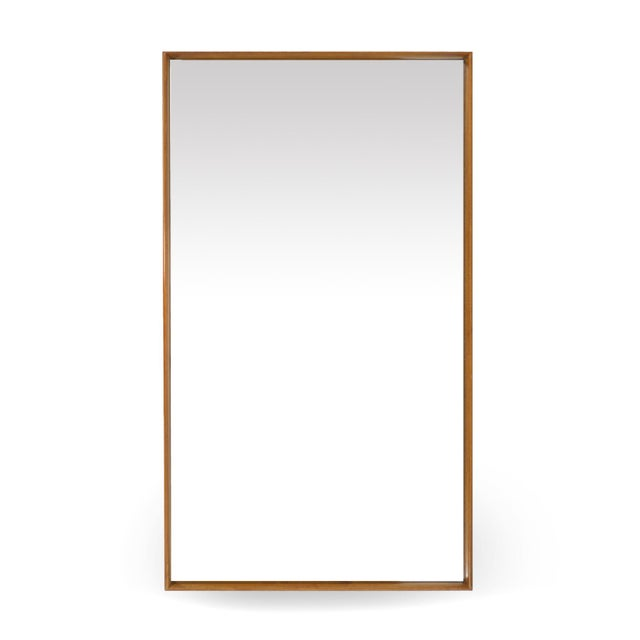 Glass t.h. Robsjohn-Gibbings Mirror by Widdicomb For Sale - Image 7 of 10