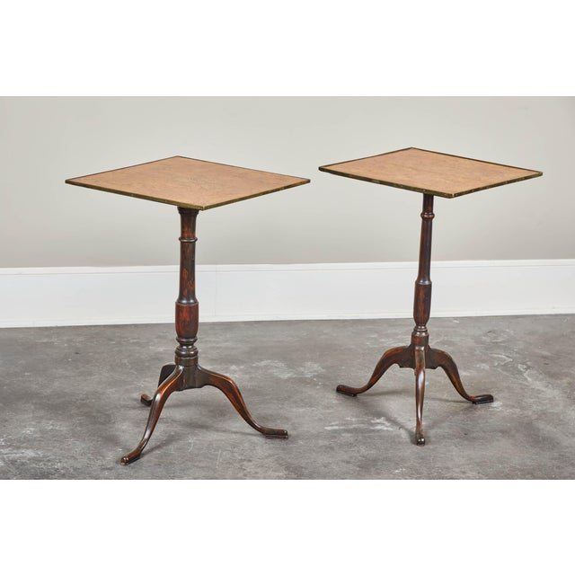 Pair of Early 19th Century Swedish Pedestal Tilt-Top Tables For Sale - Image 11 of 11