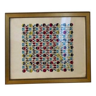 Framed Laser Cut Paper Art For Sale