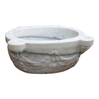 Antique Marble Sink, circa 1850 For Sale