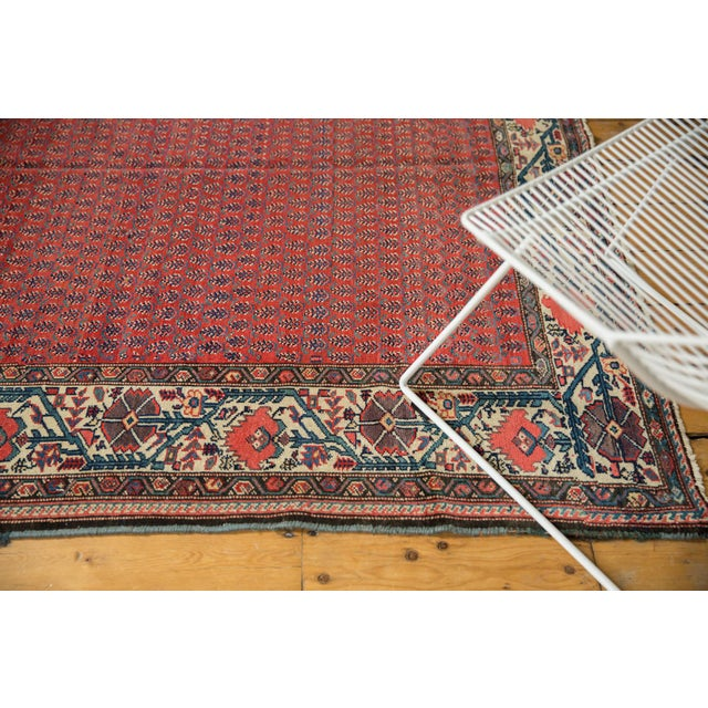 "Vintage Malayer Carpet - 5'8"" X 8'5"" For Sale In New York - Image 6 of 12"