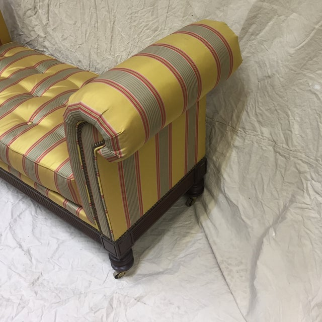 Traditional Lillian August Upholstered Bench For Sale - Image 3 of 11