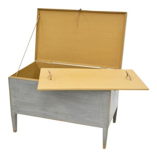 Sarreid Ltd. Trunk Storage Side Table For Sale