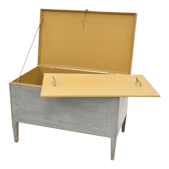 Sarreid Ltd. Trunk Storage Side Table For Sale