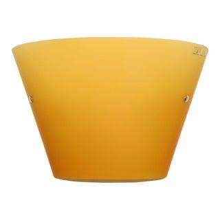 ITRE Orange Murano Glass Wall Lamp For Sale