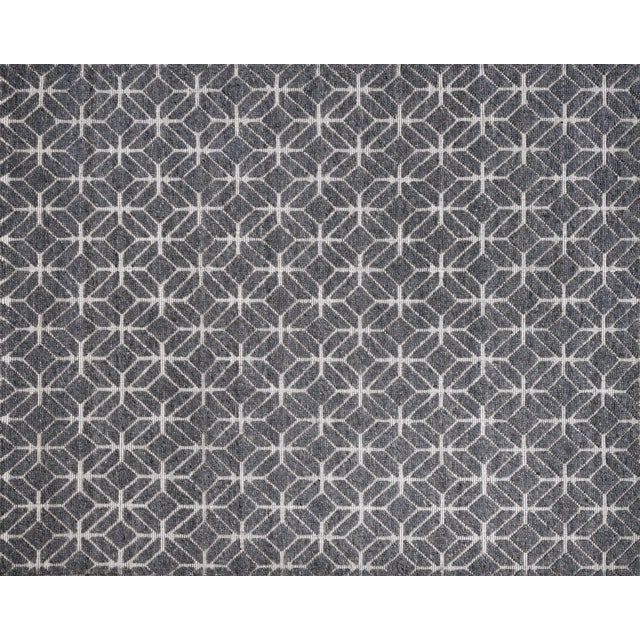 """Not Yet Made - Made To Order Alston - Denim Area Rug - 9'0"""" x 12'0"""" For Sale - Image 5 of 5"""