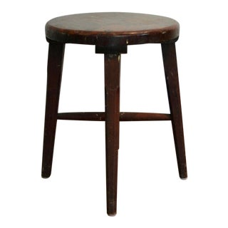 Dense Wood Hand Carved Milking Stool For Sale