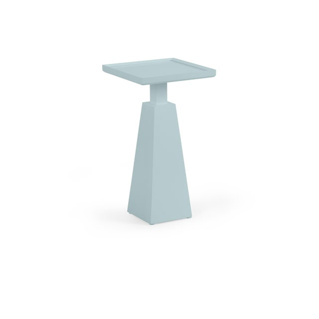 Transitional Casa Cosima Hayes Spot Table, Smoke For Sale - Image 3 of 3