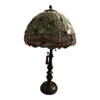 Tiffany Look Alike Glass Table Lamp