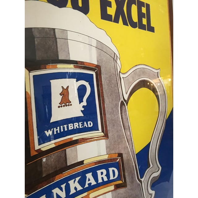 Original English Whitbred Tankard Ales Poster - Image 11 of 11