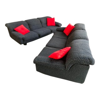 Italian Marco Zanini Sofa Set - a Pair For Sale
