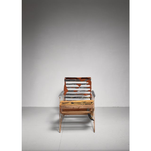 Ernesto Hauner Chaise Longue, Brazil, 1950s For Sale - Image 6 of 13