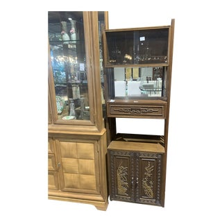 1990s Asian Book Case For Sale