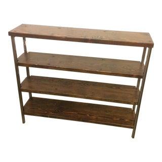 Reclaimed Wood 4-Tier Shelf