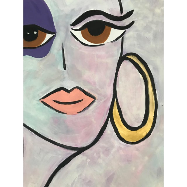 Tony Marine Contemporary Portrait Painting For Sale - Image 4 of 5