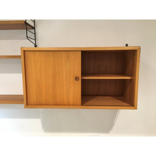 String Shelves and Cabinet by Nisse Strinning For Sale In San Francisco - Image 6 of 11