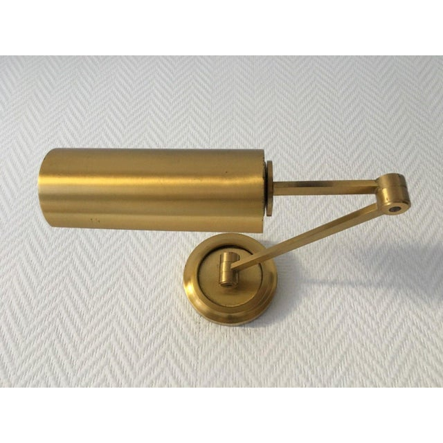 Metal French Maison Bagues Mid-Century Modern Wall Extension Lamp, 1950s - Signed For Sale - Image 7 of 7