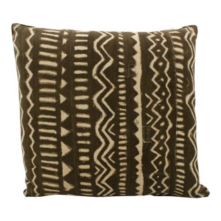 African Mud Cloth Pillow For Sale